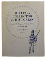 Military Collector & Historian Lot of 15 Issues 1972 1973 1974 1975