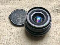 Hanimex 28mm f2.8 Manual Focus Prime Lens - Pentax PK Mount