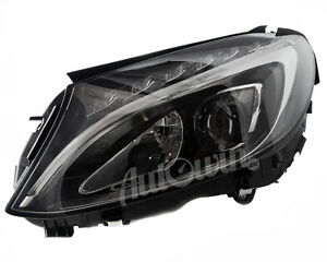 MERCEDES BENZ C-CLASS W205 2014- HEADLIGHT LED LEFT SIDE ORIGINAL GENUINE NEW