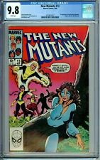 NEW MUTANTS 13 CGC 9.8 WP 1ST CYPHER MAGMA NEW NON CIRCULATED CGC CASE MARVEL