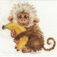 Alisa Cross Stitch Kit-Monkey