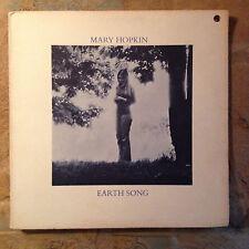 Mary Hopkin Earth Song / Ocean Song VG/VG+1971 Rare Orig Apple GF Tony Visconti