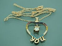 Turkish Handmade Jewelry 925 Sterling Silver Zircon Stone Women Necklace