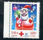 STAMP / TIMBRE FRANCE NEUF N° 3436a ** CROIX ROUGE BOULE PERE NOEL