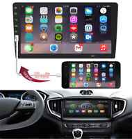 """9"""" 1Din Car Multimedia Player Stereo Radio Iphone Touchable Upgrade Mirror Link"""
