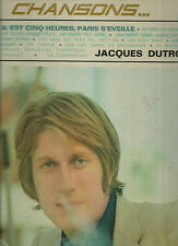 JACQUES DUTRONC-VINYLES MADE IN FRANCE SERIE CHANSONS..MODE-VOGUE-12 TITRES. BON