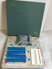 Vintage 1976 Deluxe Edition Scrabble Turntable Board Game Selchow & Righter