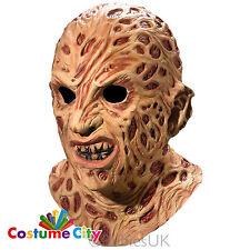 Adulti incubo Sulla Elm Street Deluxe FREDDY KRUEGER Overhead Costume Maschera
