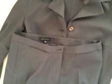 Talleur giacca pantalone donna MANDORLAMARA grigio antracite