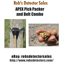 """Apex """"Pick Packer and Belt Combo"""" - Gold Prospecting, Mining & Metal Detecting"""