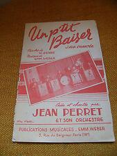 Partition Un piccolo baiser Jeans Perret Java