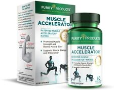 Muscle Accelerator by Purity Products - 650 mg RipFactor Patented 60 Veg Caps