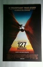 127 Heures James Franco True Story 11x17 Film Promo Affiche