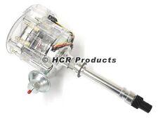 SBC Clear Cap HEI Distributor 65K Super Coil 350 305 400 327 Small Block Chevy