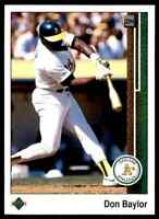 1989 Upper Deck #601-800 / You Pick - Finish Sets / Commons & Stars / 50% OFF