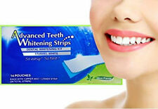 Advanced Professional Home Teeth Whitening Strips Tooth Bleaching White System