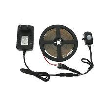 Automatic PIR Motion Sensor Switch LED Strip Set DC12V 5M 2835 LED Bed Light