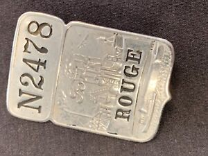 Vintage Ford Rouge Plant Employee Badge N2478 Ford Bi Plane