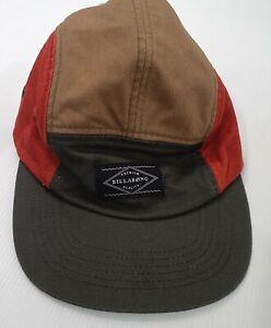 Billabong Retro Style Colour Block Cap Hat One Size