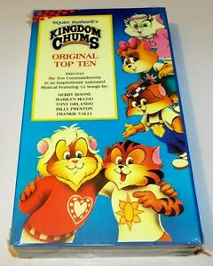 Kingdom Chums Original Top Ten New Sealed VHS Video Cassette Tape