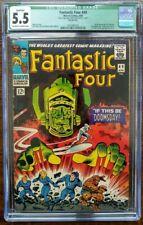Fantastic Four #49 CGC 5.5 Qualified