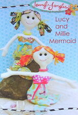 Lucy & Millie Mermaid  Dolls Softies Soft Toy Doll  Pattern -  PATTERN ONLY