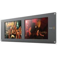 "Blackmagic Design SmartView Duo 2 Rackmountable Dual 8"" LCD Monitor HDL-SMTVDUO2"