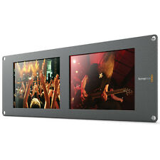 "Blackmagic Design SmartView Duo 2 Rackmountable Dual 8"" LCD Monitor HDL-SMTVDUO2"