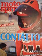 Motosprint 31 1983 Gp Inghilterra Kenny Roberts vs Freddie Spencer  [SC.31]