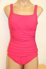 New Profile Swimsuit 1 one piece Sz 12 Pink