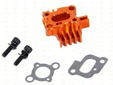 CNC baja losi series heat-type carburetor intake seat black, silver, orange