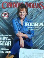 Cowboys & Indians Magazine Reba McEntire April 2018 120818nonrh