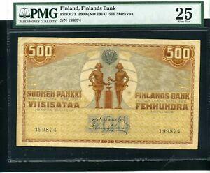 Finland 500 markkaa 1909 - VF