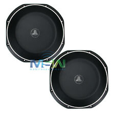 "(2) JL AUDIO 12TW1-2 12"" TW1 THIN-LINE SHALLOW MOUNT CAR SUBWOOFERS SUBS *PAIR*"