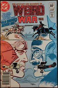 Weird War Tales #124 VF/NM 9.0 (DC 1983) - Giffen art!