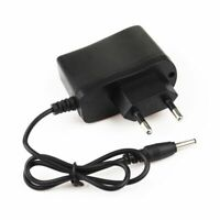 EU Plug 3.5mm Wall AC Charger For Rechargeable Battery Headlamp Flashlight Torch