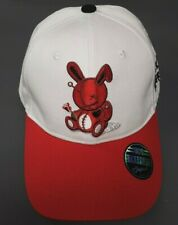 59385d2a603 Black Keys Lucky Charm Dad Hat Strap Back Cap - White Red