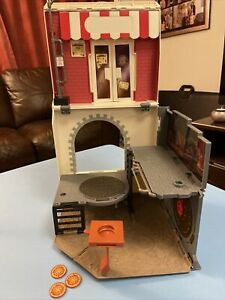 TEENAGE MUTANT NINJA TURTLES POP UP PIZZA PLAYSET 2013 ANCHOVY ALLEY
