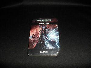 Warhammer 40000 Eldar Psikräfte Karten (Neu)