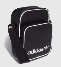 Adidas Originals Unisex Mini Vintage Shoulder Cross Travel Bag Black DH1006