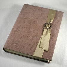 Italian Il Cartiglio Firenze Guest Book Handtooled Leather Binding