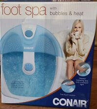 Conair Pedicure Foot Spa with Bubbles & Heat and Pinpoint Massage Attachment