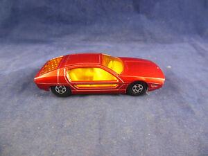 Matchbox Superfast MB - 20 Lamborghini Marzal metallic Red N MINT Narrow wheels