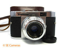 VOIGTLANDER VITO B 35MM Camera & COLOR SKOPAR 50MM F3.5 Lens & Custodia