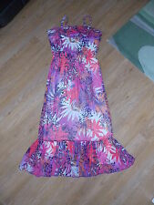 **SIZE 14 STUNNING LONGLINE/MAXI DRESS FROM TU, BRIGHT COLOURS, HOLIDAY (2)**