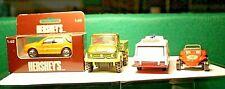 3 Corgi Unimog Motorway Ambulance Beach buggy + Hershey's Daimler Chrysler Van