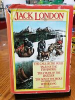 TALES OF THE FISH PATROL cruise of the dazzler SONS OF THE WOLF Jack London hcdj