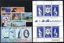BRITISH SOUTH GEORGIA Yv # 47/8-49/51-56/8-5961, Bl 73/6, 5 Compl Sets MH - MNH