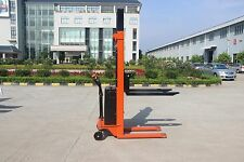 Full electric pallet stacker, Best value ever, Narrow 1.6m lift, Our Factory !!