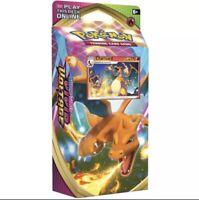 Pokemon Sword And Shield Vivid Voltage Charizard Theme Deck Cracked Ice 🔥👀🦖